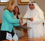 """الصندوق الكويتي للتنمية"""" يوقع مع مفوضية الأمم المتحدة اتفاقية منحة لمساعدة اللاجئين السوريين"""