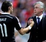 أنشيلوتي: بيل كان أحد أسباب رحيلي عن ريال مدريد