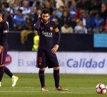 أجواء الحزن تخيّم على برشلونة بعد الهزيمة أمام ملقا