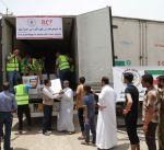 الكويت توزع 1300 سلة غذائية في الجانب الأيمن من الموصل