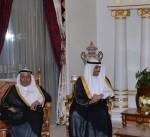 الرئيس المصري يستقبل رئيس مجلس الامة وعدد من اعضاء المجلس