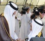 سمو أمير قطر يصل إلى الكويت