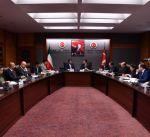 الوزير الروضان بحث مع وزيري الاقتصاد والصناعة التركيين تطوير العلاقات الثنائية