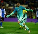 برشلونة يجدّد عقد الشاب كارليس ألينا لمدة ثلاثة أعوام