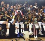 غولدن ستايت بطلاً لدوري السلة الأميركي للمرة الخامسة في تاريخه