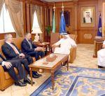 وزير الداخلية يبحث مع مستشار الأمن القومي البريطاني المستجدات الأمنية الإقليمية