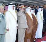 ممثل سمو الأمير يحضر حفل افتتاح قاعدة محمد نجيب العسكرية في مصر