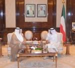 الأذينة يسلّم المبارك الاستراتيجية الوطنية للأمن السيبراني لدولة الكويت