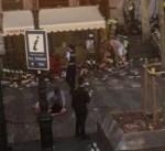 عشرات المصابين في حادث دهس وسط مدينة برشلونة بإسبانيا