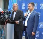 الأمين العام للأمم المتحدة يطالب المجتمع الدولي بتقديم الدعم الإنساني العاجل لغزة