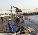 استجابة القطاع النفطي لاحتواء البقع النفطية بتدابير وإجراءات عالية المستوى
