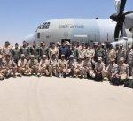 """القوة الجوية الكويتية المشاركة في تمرين """"يرموك 3"""" تصل إلى مصر"""