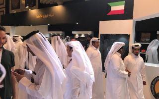 شركات الصيد والصقور الكويتية تسجل مشاركة متميزة في معرض متخصص بقطر