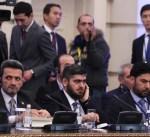 الفصائل السورية تعقد جولة مفاوضات مع الجانب الروسي لوقف الحرب في القلمون