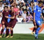 برشلونة يعزز موقعه في صدارة الدوري الإسباني بثنائية في شباك خيتافي