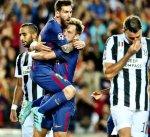 برشلونة يرد الدين ليوفنتوس بثلاثية نظيفة في دوري أبطال أوروبا