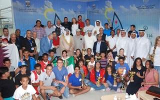 بطولة الكويت الدولية للقوارب الشراعية تختتم منافساتها