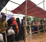 """""""الهلال الأحمر"""" تقدم مساعدات إنسانية للاجئي الروهينغيا في بنغلاديش"""