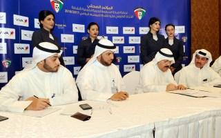 اتحاد القدم يوقع اتفاقية رعاية مع الخطوط الجوية الكويتية