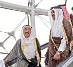 أمير قطر يتسلم دعوة سمو الأمير للمشاركة في اجتماع مجلس التعاون الخليجي