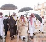 وزير الخارجية يصل الرياض
