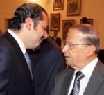 عون: الحريري يعود إلى لبنان الأربعاء