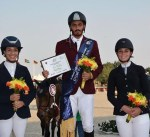 الفارس الخرافي يحرز المركز الثالث ببطولة قطر الدولية لقفز الحواجز