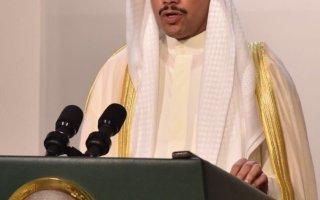 الرئيس الغانم: نقف صفا واحدا خلف سمو الأمير