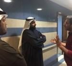 وزير الصحة يتفقد مستشفى العدان و مركز سلمان الدبوس للقل