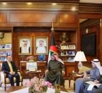 الشيخ صباح الخالد يستقبل السفير الفرنسي لدى البلاد