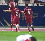 #خليجي23.. نهاية الشوط الاول من مباراة منتخبي قطر والعراق بالتعادل الايجابي