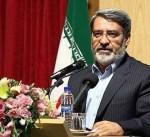 وزير الداخلية الايراني يدعو المواطنين الايرانيين الى الالتزام بالهدوء والقانون