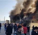 اصابة 50 شخصا في احتجاجات بكردستان العراق