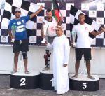 متسابقو الكويت يحرزون ثلاث كؤوس في الجولة الأولى لبطولة الامارات للدراجات المائية