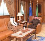 وزير الداخلية يبحث مع كومان موضوعات مشتركة