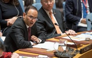 الكويت: موقفنا ثابت بالادانة الشديدة لأي استخدام للأسلحة الكيماوية