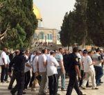 القدس: عشرات المستوطنين المتطرفين يقتحمون المسجد الأقصى