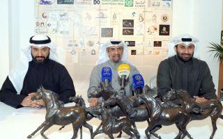 """مهرجان الكويت الدولي للجواد العربي """"2018"""" ينطلق في فبراير المقبل"""