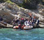 """تركيا: إنقاذ 41 مهاجرا غير شرعي قبالة سواحل """"أزمير"""""""