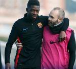 الإصابة تبعد ديمبيلي عن برشلونة مجددا