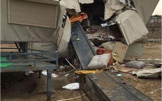 """""""الإطفاء"""": سقوط رافعة في العبدلي يودي بحياة طفلة ويصيب 3 آخرين"""