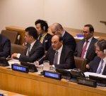 الشيخ صباح الخالد يترأس جلسة غير رسمية لمجلس الأمن لمناقشة القضية الفلسطينية
