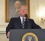 """الرئيس الأمريكي يأمر بسحب دعم الولايات المتحدة للبيان المشترك مع أعضاء مجموعة """"جي 7"""""""