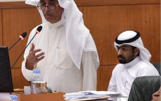 الوزير الخرافي: أشكر مقدمي الاستجواب على الطرح الراقي