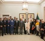 سفير الكويت لدى فرنسا يؤكد أهمية الزيارة التي يقوم بها فريق كويتي