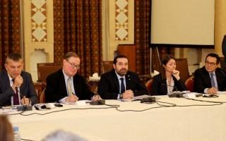الحريري يدعو المجتمع الدولي لمساعدة بلاده في مواجهة ازمة النزوح