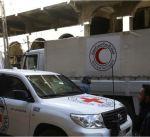 الهلال الأحمر السوري: قافلة مساعدات تدخل الغوطة