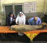 تشكيل لجنة ثلاثية لمعاينة التمثال المصري المضبوط في مطار الكويت