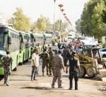 """سوريا: خروج نحو 4 الاف من مسلحي جيش الاسلام وعائلاتهم من """"دوما"""""""