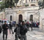 نحو 250 مستوطن يقتحمون المسجد الأقصى